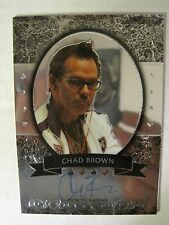 CHAD BROWN 2011-2012 LEAF Metal Poker AUTOGRAPH