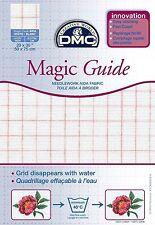 DMC MAGIC GUIDE AIDA BLANC 50cms x 75cms BLANC - DC28MG BLANC - FREE UK P&P