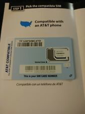 Straight Talk Bring Your Own Phone At&T Att sim card nano micro standard Byop