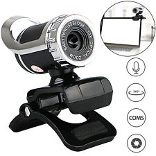HD 12 Megapixels USB 2.0 Webcam Camera with MIC Clip-on for Computer PC Lap