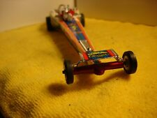 """1960's Carl Casper """"Cosmic Charger"""" dragster 1/24 Slot Car offered by Mth"""