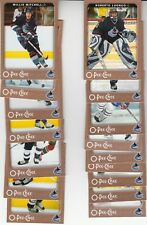 06/07 OPC Vancouver Canucks Team Set with Rookies and Inserts - Luongo +