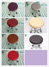 Bar Stools Round Sleeve Dentist Stool Cover Kitchen Fabric 1 Piece
