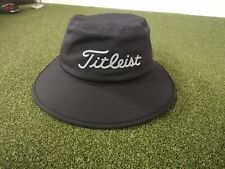NEW: Titleist Waterproof Sta Dry Bucket / Hat, Black / Navy
