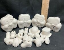 Donas Ceramics Bisque Candy Dishes Ready to Paint