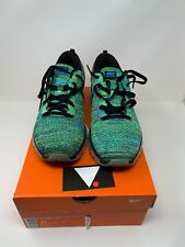 info for a92b5 98b51 Nike Flyknit Max Black Blue Lagoon 620469 009 OFF WHITE REACT VAPORMAX