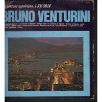 Bruno Venturini Lp Vinile La Canzone Napoletana: I Ricordi / Saar Nuovo