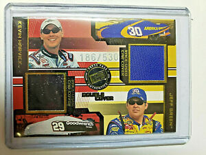 Kevin Harvick, Jeff Green Race-Used Car Cover 2003 Press Pass Eclipse