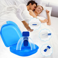 Snore Stop Mouth Guard Anti Snoring Device Sleeping Aid Stop Mouthpieces Apnea