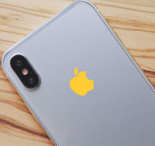 Yellow Color Changer Overlay for Apple iPhone 8 and 8 Plus Logo Vinyl Decal