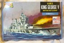 H.M.S. King George V 1:1750 Scale Battleship Model Kit From the Lindberg line