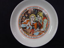 Wedgwood 1981 Children's Stories Tom Thumb Brothers Grim Plate Mib