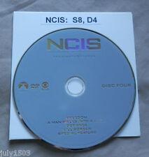 (1) NEW Genuine NCIS Season 8 Disc 4 Replacement DVD - Single Disc
