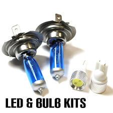 VAUXHALL ASTRA h/mk5 1.6 h7 501 55w Ghiaccio Blu Xenon Dip/slux LED Lampadine Laterali