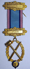 R.A.O.B.   Royal Antediluvian Order of Buffaloes - Lodge Jewel / Medal