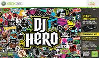DJ Hero (Microsoft Xbox 360, 2009) video game booklet disc