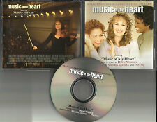 GLORIA ESTEFAN & NSYNC Music Of My heart PROMO DJ CD single Justin Timberlake