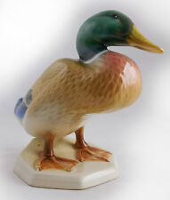 ENGLISH BESWICK Mallard Duck, MODEL 817 - Squatting, RARE BIRD SERIES by Watkin