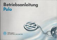 VW POLO  2  Betriebsanleitung 1992 Bedienungsanleitung 2F Handbuch Bordbuch  BA