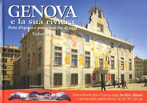 GENOVA RIVIERA LIGURE FOTO STORICHE SPETTACOLARI PANORAMICHE Archivio Alinari
