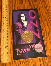 Ozzy Osbourne/ Coin/ Sealed/ The Ozz Fest/ 1998/ Monowise/ Liberty Mint/ Awesome