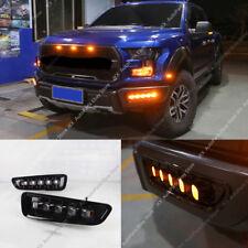 LED DRL Daytime Running Light Fog Lamp H For Ford Ranger Raptor F150 2017-2018