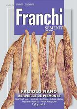 Semi/Seeds FAGIOLO Nano Merveille de Piemonte