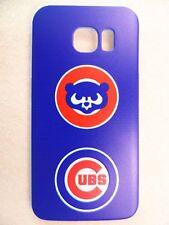 MLB Chicago Cubs Logo Samsung Galaxy S6 Edge Plastic One-Piece Slim Case