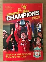"Liverpool FC Premier League Champions 2019/2020 ""Story Of The Season"" magazine"