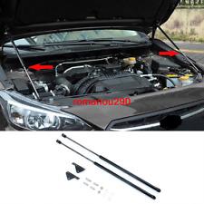 For Subaru Crosstrek XV 2018-2019 black Engine cover Hydraulic Brace Struts 2pcs