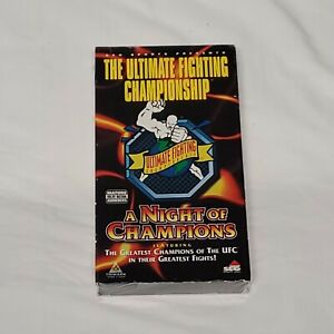 UFC: A NIGHT OF CHAMPIONS 1999 Ultimate Fighting Championship NEW sealed