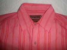 BNWOT* Large MARLBORO CLASSICS Red Stripe Logo Long Sleeve Shirt Size LARGE -NEW