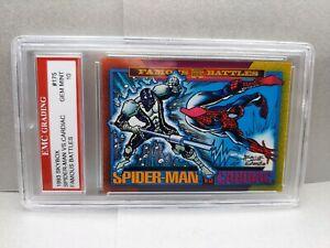 SPIDER-MAN VS. CARDIAC  1993 SKYBOX  EMC GRADED 10 GREAT CARD ! NEW MOVIE SOON!