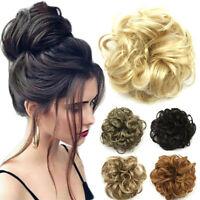 Band Hair Pieces Hair Bun Hair Extension Curly Messy Chignon Curly Scrunchie