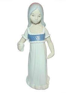 REX VALENCIA  Figurine ' Girl holding a cup ' 1st quality
