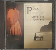 MICHAEL NYMAN The PIANO 20 track CD 1993 Jane Campion