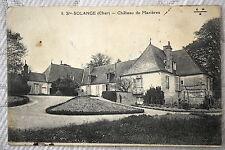 """CPA """" STE SOLANGE - Château de Mazières"""