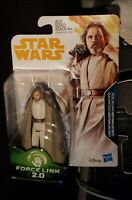 "Star Wars  Force Link  2 Jedi Master Luke Skywalker- 3.75"""