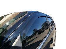 Black Tinted Door Visor Weather Rain Shield for Ford Territory 2004-17