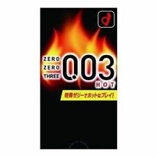 Okamoto 003 HOT Extra Lubricated Ultra Thin 0.03 mm Condom 10 Pcs (US Seller)