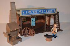 8534 playmobil blacksmith western 3430 klicky