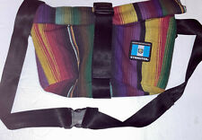 "Ethnotek Shoulder Bag Belt Bag ""Cyclo Sling"" Fair Trade Guatemala 1 Vegan Unisex"