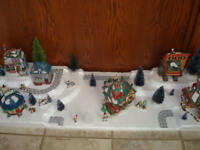 4FT. Christmas Village Display Platform C29 For Lemax Dept56 Dickens + More
