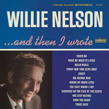 Willie Nelson And Then I Wrote BLUE VINYL LP Record 1962 debut album! crazy! NEW