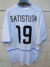 VINTAGE Maillot INTER MILAN Nike maglia BATISTUTA jersey shirt away calcio XL