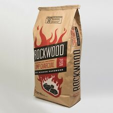 Rockwood Lump Charcoal - One Bag, 20# each - Free Shipping! 100% Mo Hardwood