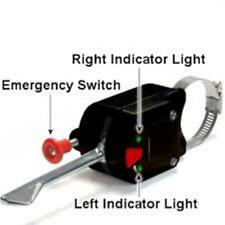 Black Universal Turn Signal Switch Quality Hot Rod Custom Jeep 4x4 Postal rat