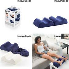 Cojin almohada doble para Piernas,boca arriba,lado,rodillas,ideal embarazadas