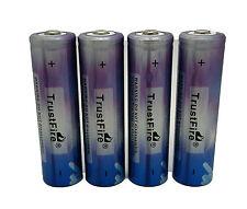 4x Bateria TRUSTFIRE Recargable de 18650 3.7V Li-ion de Alta Capacidad Pila 4066