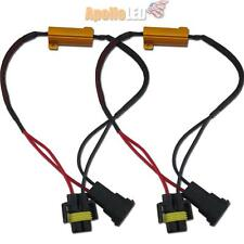 2 pieces of H11 H8 Decoder Load Resistor for Hyper Flashing Error Code Free